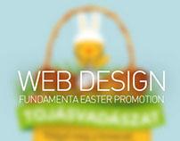 FUNDAMENTA - Easter promotion webpage