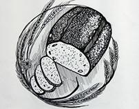 Detail Illustrations for a logo