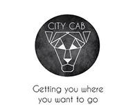 City Cab brand identity creation