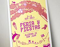 Feria & Fiestas ASJ 2013 Poster Contest