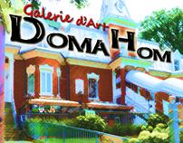 Portfolio - Cartes souvenirs de la Galerie DomaHom