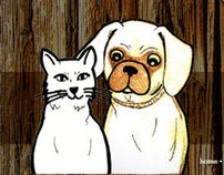 Lost and found Pets Iphone App and Webpage