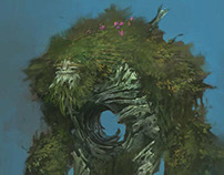 Treant-Oaklord: in-game character design