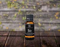 Scente on the go oil bottle Label
