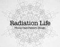 Radiation Life Phone Case Pattern Design
