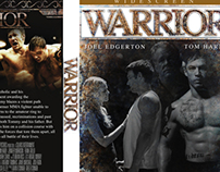 Warrior DVD cover spoof