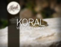Koral - Jewellery website