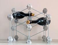 'Molekul' Wine Rack