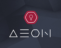 AEON - One page parallax polygonal template