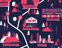 The Walking Dead Map