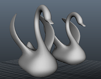Swan Stage Props
