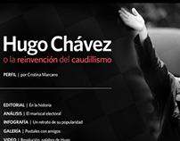 Hugo Chávez o la reinvención del Caudillismo