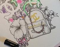 SS14 Handbag Illustration