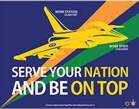 Promoting Indian Airforce (Ad Campaign)