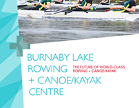 BROCHURE: Burnaby Lake Rowing + Canoe/Kayak Centre