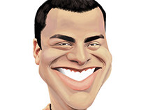 Josh caricature