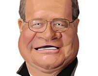 Gary caricature