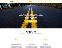 Colorful- One Page PSD Template