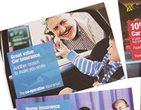 TV, Direct mail - Home & Car The Co-operative Insurance