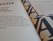 Kraft of Typography Book Design