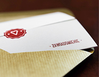 A wedding card invitation