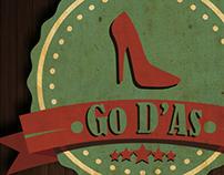 Go D'As Logo vintage