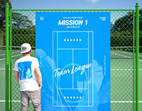 Sergio Tacchini Tennis Festival poster design