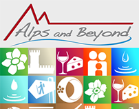 Alps and Beyond activity icons