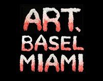 Miami Basel Poster: Flamingo