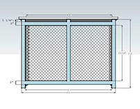 Radiator Cover Design