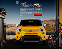 FIAT | Pack Like L | Social Media Campaign