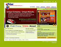 ePrize   Website and Information Architecture