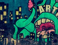 Monstruo en la ciudad!