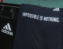 Adidas Campaign Design in College