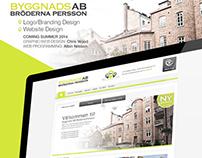 Bröderna Persson - Web/Graphic & Logo Design