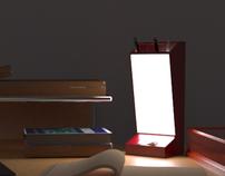 Desk lamp/ Lampen
