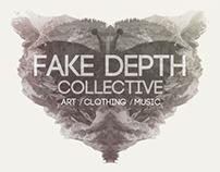 Fake Depth Collective Branding / Illustration Project