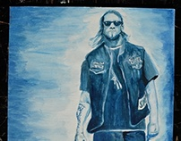 Sons of Anarchy Illustrations