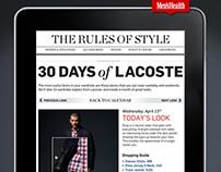 Lacoste for MensHealth.com