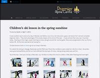 Premier Alpine WordPress Site