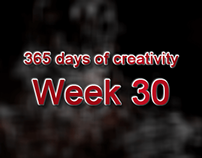 365 days of creativity/art - Week 30