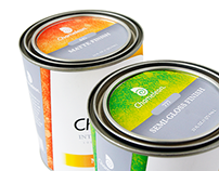 CHAMELEON Paint Can Packaging