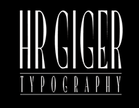 HR GIGER type (free font)