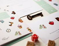Story Book Wedding Stationary