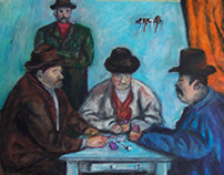 Cezanne Card Players Study