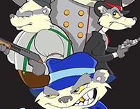 Bad Badgers in Copenhagen