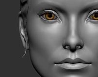 Character Modelling - Aryana