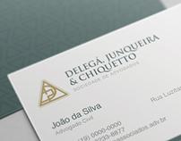 Delegá, Junqueira & Chiqueto - Rebranding