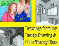 Design Drawing & Color Theory