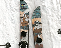 Limited Edition|Splitboard Design for Weston Snowboards